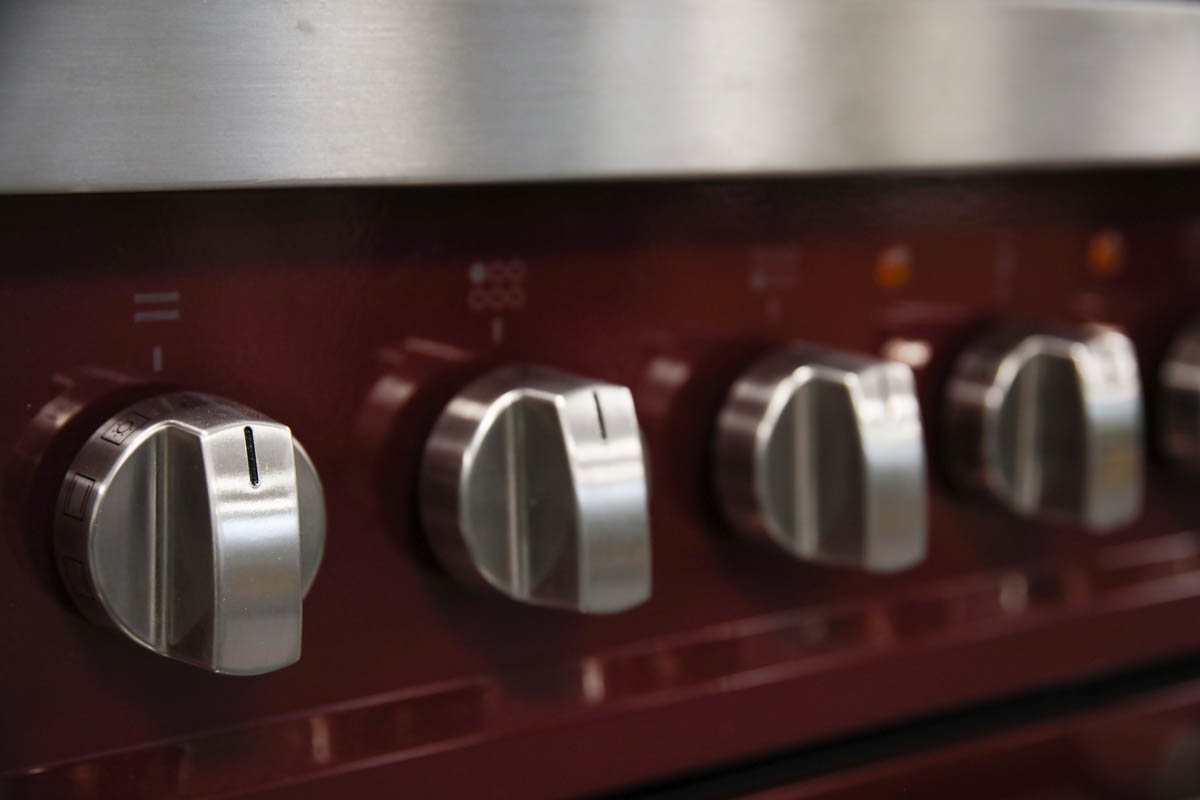 Close up of Torino knobs